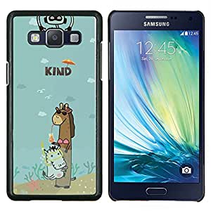 Dragon Case - FOR Samsung Galaxy A5 A5000 A5009 - girl can put up with you - Caja protectora de pl??stico duro de la cubierta Dise?¡Ào Slim Fit