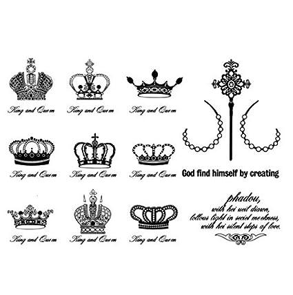 ruofengpuzi Adesivo tatuaggioImpermeables Pegatinas Temporales De ...