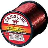 Cajun CL12FB Red Lightnin Filler 12Lb 300Yds Mono Fishing Line