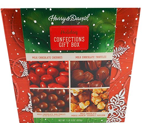 Harry & David Holiday Confection Gift Box Chocolate Moose Munch Gift Set