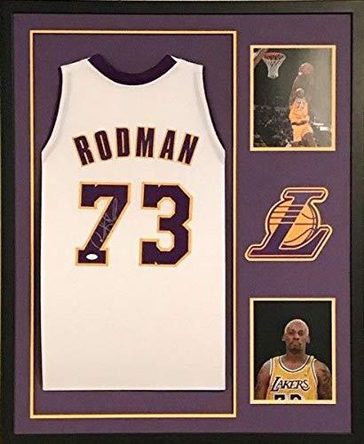 buy popular d566e 47b86 Dennis Rodman Autographed Signed Los Angeles Lakers Jersey ...