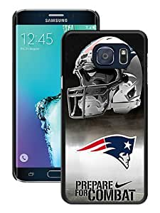 Unique Samsung Galaxy S6 Edge+ Skin Case ,Fashionable And Durable Designed Phone Case With New England Patriots Black Samsung Galaxy S6 Edge Plus Screen Cover Case