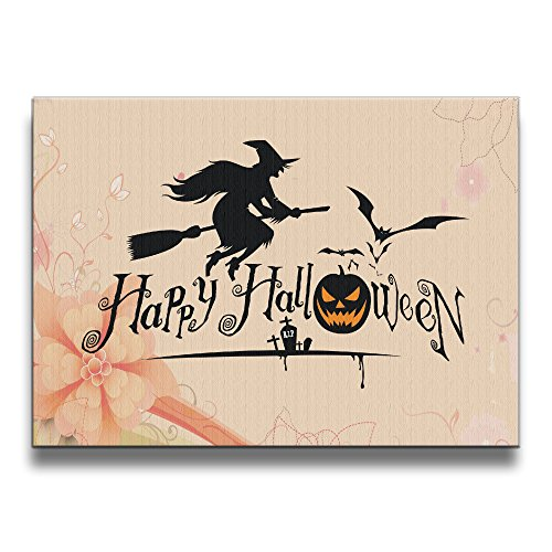 BERTHA Frameless Decorative Happy Halloween Event Wall Art (Snakes On A Plane Halloween Costume)