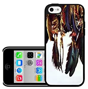 Hanging Feathers Hard Snap on Case (iPhone 5c)