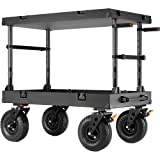 Inovativ Scout 42 EVO SL 42x24x7'' Equipment Cart with Removable 10'' Wheel System, 600 lbs Capacity