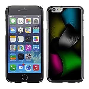 Cubierta de la caja de protección la piel dura para el APPLE IPHONE 6PLUS (5.7) - Color Tones
