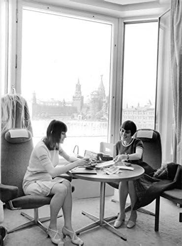 Vintage Photo de Mireille Mathieu Talking pour femme.: Amazon.fr