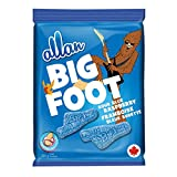 Allan Big Foot Original Gummy Candy, Blue Raspberry, (Pack of 6) (Packaging May Vary)
