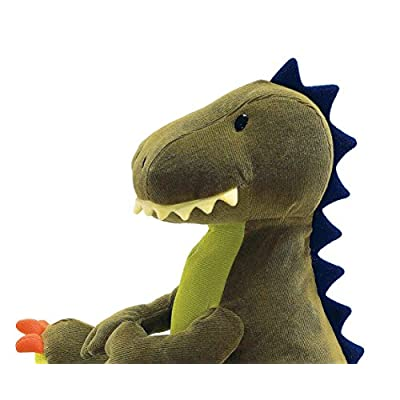 GUND Tristen T-Rex Dinosaur Stuffed Animal Plush, Green, 13