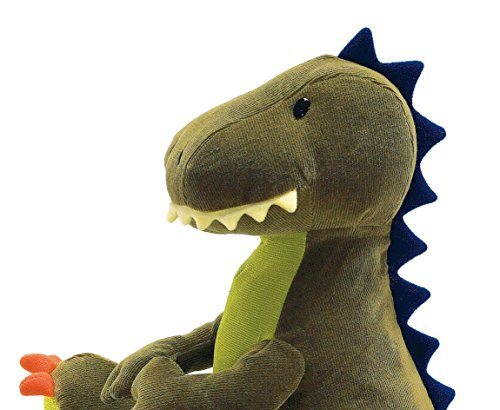 Amazon Com Gund Tristen T Rex Dinosaur Stuffed Animal Plush Green