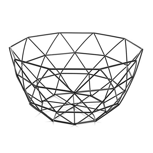 Fruit Storage Basket,Metal Fruit Basket Holder Iron Art Fruit Display Bowl Vegetable Fruit Rack Dining Table Decoration