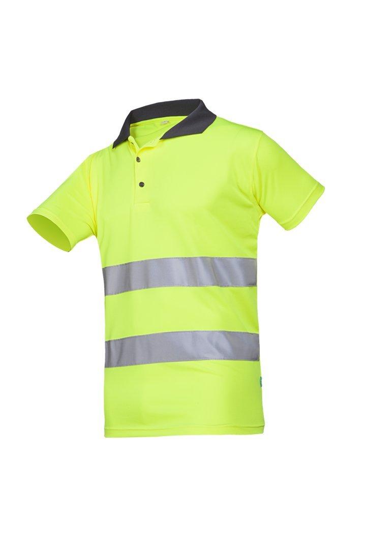 color amarillo SIOEN 3870A2MBEFY1S Irola Hi-Vis talla S Polo