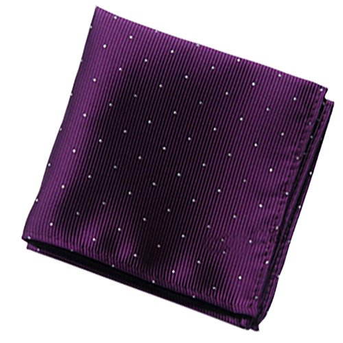 Driew Pack of 7 Men Pocket Square Satin Handkerchief Hanky with Polka Dot Pattern by Driew (Image #7)
