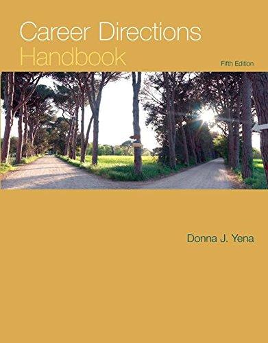 Career Directions Handbook