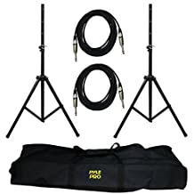 Pyle-Pro PMDK102 Pro Audio Speaker Stand and Cable Kit