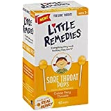 Little Colds Honey Pops Lollipop, Natural Honey, 10 Count (Pack of 2)