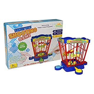 Little Treasures Mini Arcade Shooting Game, 2-4 Players Great Game for Your Home or Office