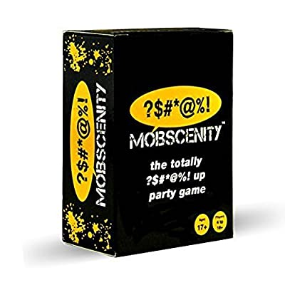 Mobscenity the Totally Bleeped Up Party Game: Toys & Games