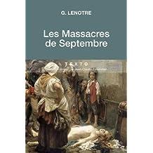 MASSACRES DE SEPTEMBRE (LES)