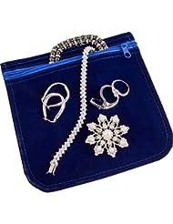 ArtBin 6835AG Anti-tarnish Jewelry Bag, 6x6 Anti-tarnish Jewe...
