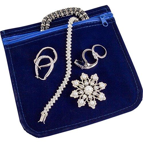 ArtBin 6835AG Anti-tarnish Jewelry Bag, 6x6 Anti-tarnish Jewelry Bag, 6x6