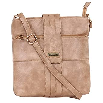ESBEDA Ladies Sling Bag Beige Color (MSA01_1369): Amazon.in ...