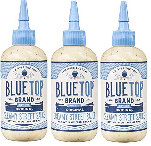 Blue Top Brand Original Creamy Street Sauce, 9 OZ (Pack - 3)