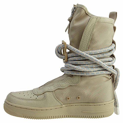 Nike SF Air Force High Top Womens Boots Rattan/Rattan/White aa3965-200 (6.5 B(M) US) by NIKE (Image #4)