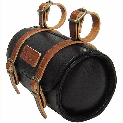Naborsa Bicycle bag Handlebar bag Genuine Leather Saddle bag Cylinder bag