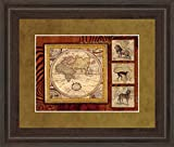 Classy Art DM5362 ''Journey To Africa II'' Framed Prints By Tava Studio