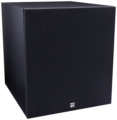 BIC America F12 12-Inch 475-Watt Front Firing Powered Subwoofer (Pro Logic Amp)
