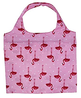 Lightweight Reusable Grocery Bag with Zipper Closure, Shopping Bags with Zippered Storage Pouch