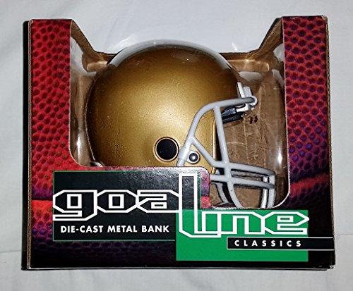 1996 Goal Line Classics Notre Dame Fighting Irish Die-cast Metal Mini Helmet Bank