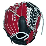 Vinci Fortus 12'' Softball/Baseball Glove Red/Black Right Handed Thrower