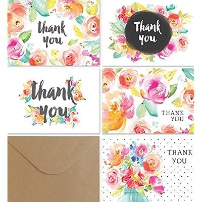 thank-you-cards-bulk-set-36-floral