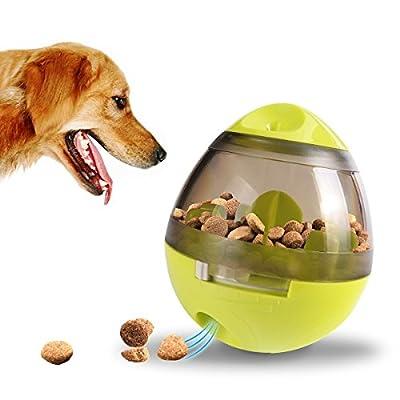 Alimentador de comida para perros, Interactivo Comida Tratar-dispensar Pelota Divertido juguete de forrajeo para perros