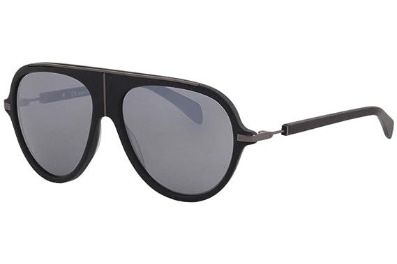 e83f6a357436f Sunglasses Balmain 2104 C01 MATTE BLACK at Amazon Men s Clothing store