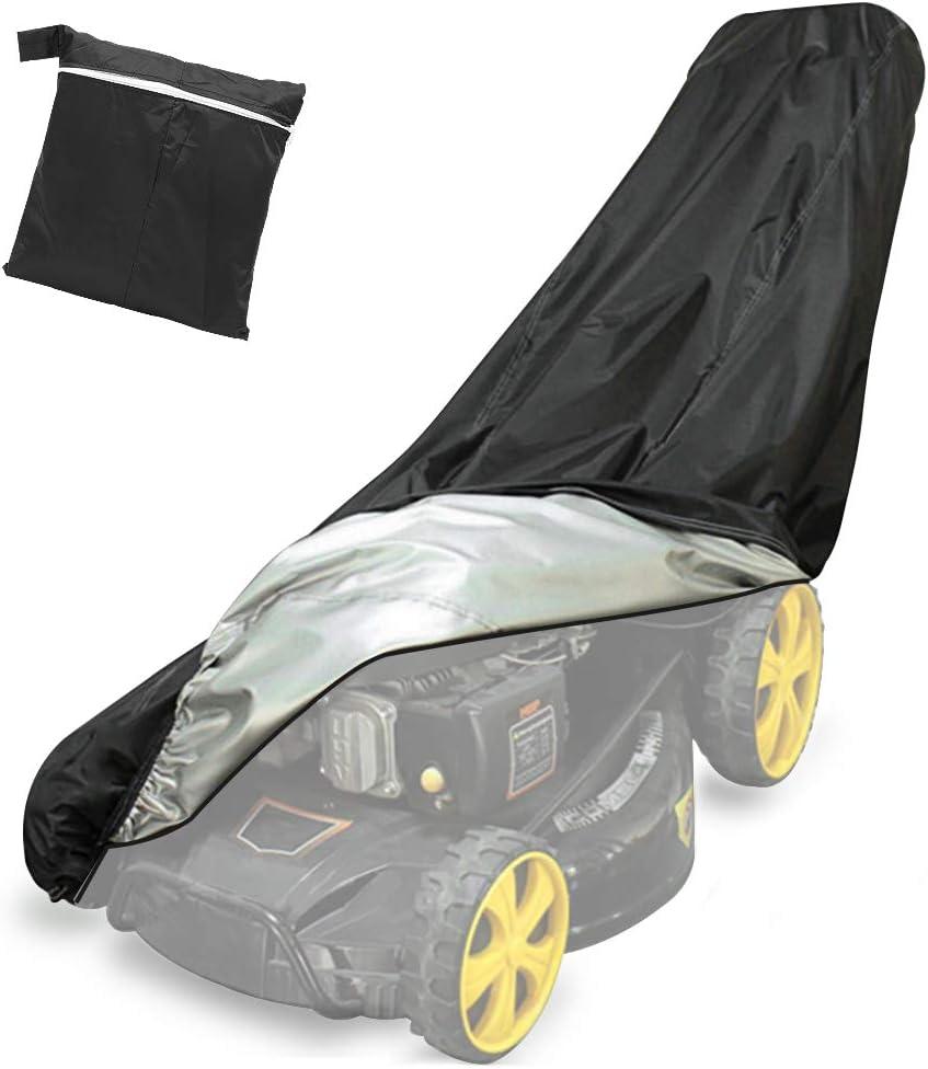 Yansion Funda para Cortacésped del Poliéster 210D Resistente Protector Impermeable 76 * 25 * 57 * 44inch Pulgadas Todo el Timpo Protección al Aire Libre