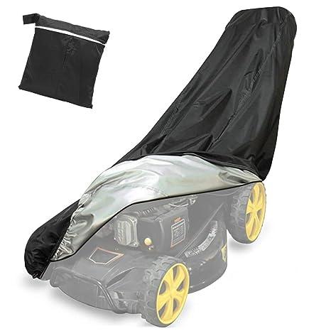 Yansion Funda para Cortacésped del Poliéster 210D Resistente Protector Impermeable 76 * 25 * 57 * 44inch Pulgadas Todo el Timpo Protección al Aire ...