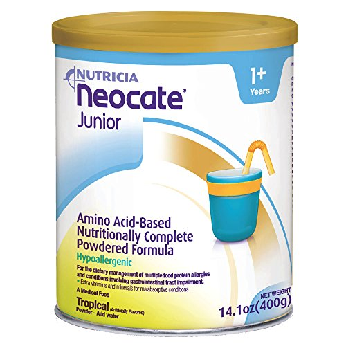 Neocate Junior, Tropical, 14.1 oz / 400 g (Case of 4 cans) by Neocate