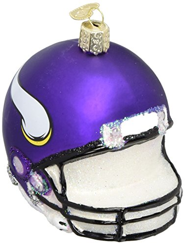 (Old World Christmas Glass Blownn Ornament Minnesota Vikings)