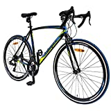 Image of Merax 608XC 21 Speed 700C Aluminum Road Bike Racing Bicycle