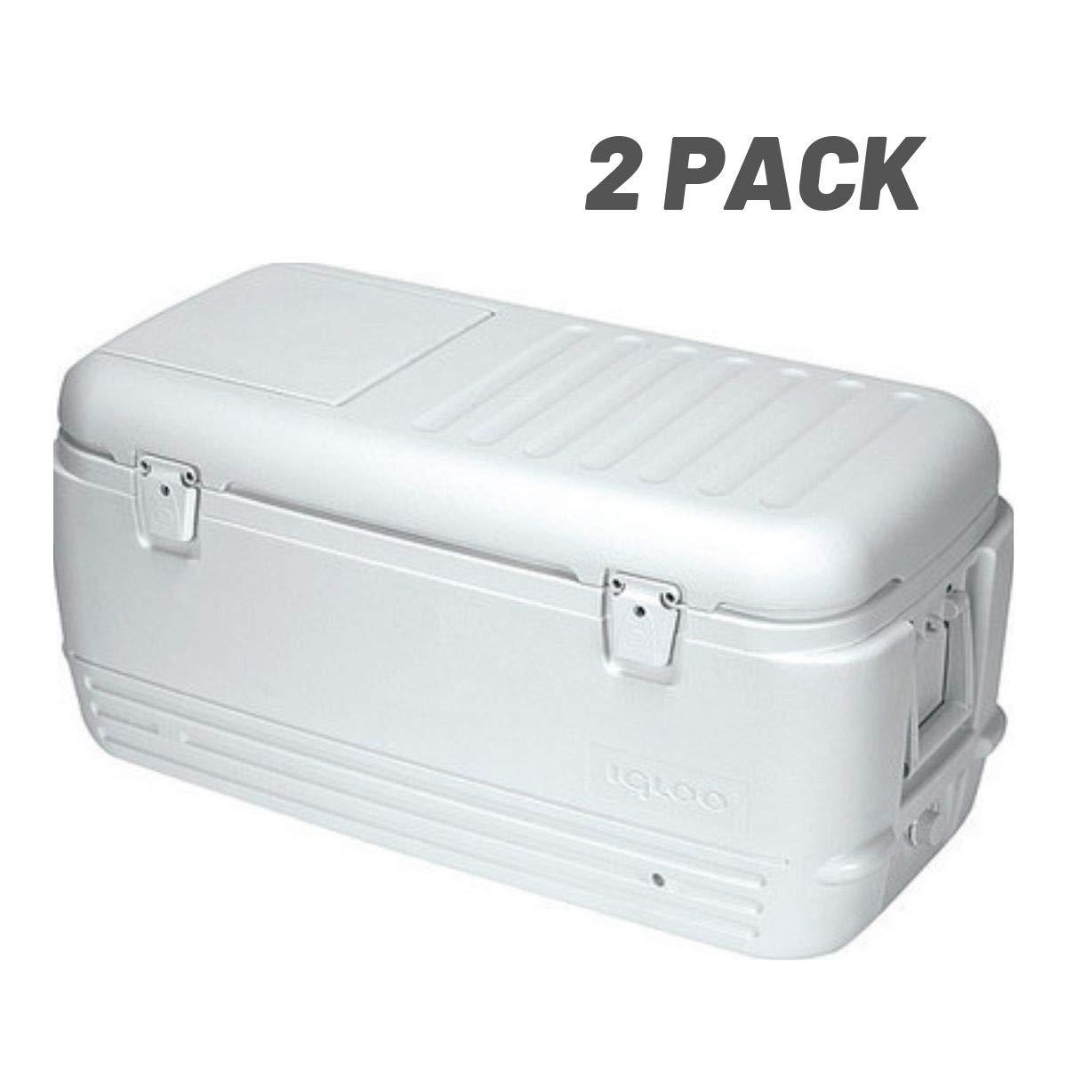 Igloo Quick and Cool 100 Qt. Cooler - 11442 (100-Quart - 2 Pack)