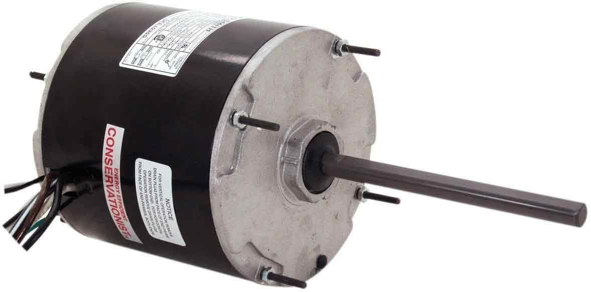 1.9-Amp 1//4-HP 825-RPM 5.6-Inch Frame Diameter Ball Bearing Motor 208-230-Volt Century F1028S Condenser