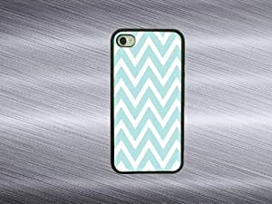 LJF phone case iphone 6 plus 5.5 inch cases - Blue chevron iphone 6 plus 5.5 inch covers rubber iphone case