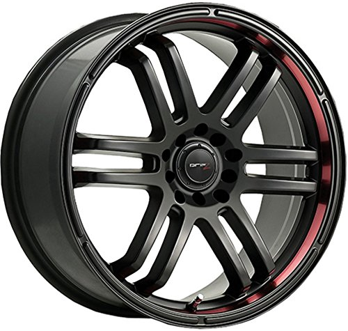 Drifz 207B FX Black Wheel (15x6.5/4x4.5, 42mm Offset) (Sol Rims Del)