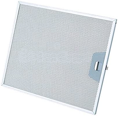 Filtro campana extractora aluminio 253 x 300 x 8 mm Ariston 059594 CD 39610300 F 204: Amazon.es: Hogar