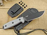 ESEE Knives 4P Fixed Blade Knife w/Handle and Molded...