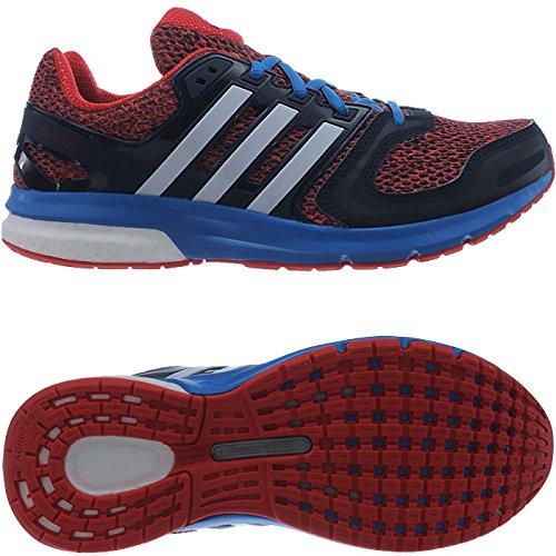 de pour adidas Chaussures bleu Rouge rouge blanc course homme OwxUqga
