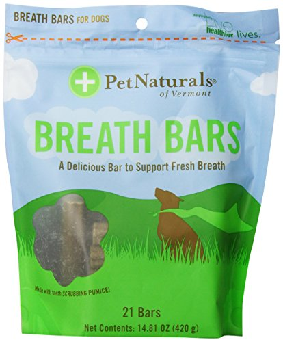Pet Naturals of Vermont Breath Bars 21-Count, 14.81oz